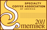 Member of the Specialty Coffee Association of America